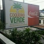 Photo taken at Churrascaria Coqueiro Verde by Marcela A. on 3/18/2012