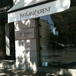 Photo taken at Yves Saint Laurent by Matrena S. on 7/12/2012