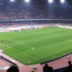 Photo taken at Stadio San Paolo by Elena V. on 3/23/2012