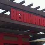 Photo taken at Benihana by Adriana G. on 6/17/2012