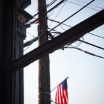 Photo taken at New York Pizzeria by Dimitri P. on 7/25/2014
