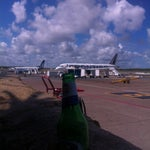 Grab a cerveza and head to the outdoor patios next to Gates 2 & 4 for some of the best plane-watching out there.