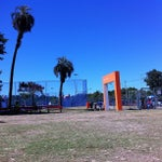 Photo taken at Parque Germânia by Cid T. on 1/27/2013