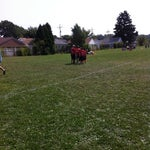 Photo taken at Grover Cleveland School by Edwina L. on 8/30/2014