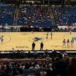 Photo taken at Hartman Arena by Harrison B. on 3/14/2015