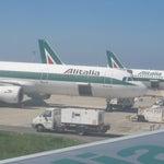 Boarding in plane @Airport Reggio Calabria / Italy