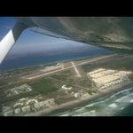Una muy buen aeropuerto mas cuando tu piloteas el avion la vista es envidiable