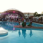Photo taken at Ushuaïa Ibiza Beach Hotel by Laura M. on 9/14/2012