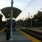 Photo taken at North Avenue Light Rail Station by Sam Y. on 9/27/2012
