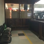 small airport but has a smoking room for traveler.