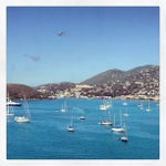 Photo taken at Port Of St. Thomas by Q8mykonos on 3/28/2013