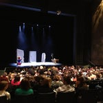 Photo taken at Harris Theatre for Music and Dance by Juli P. on 1/6/2013