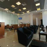 The business lounge is accessible for 60sar. It is fairly small but at least u get a power outlet, decent chair, better wifi and some refreshments if u have a few hours to wait before ur flight.