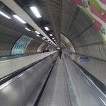 Photo taken at Waterloo London Underground Station by James Arthur C. on 12/31/2012