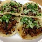 Photo taken at King Taco Restaurant by Robert N. on 12/29/2012