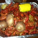 Photo taken at Shane's Seafood And Barbq by Claudia D. on 4/13/2013