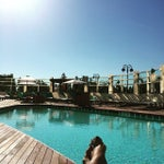 Photo taken at Water Club Pool by Ana S. on 5/24/2015