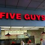 Photo taken at Five Guys by Scott W. on 11/19/2012