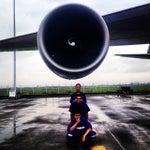 Photo taken at GMF AeroAsia by Arvian M. on 12/26/2014