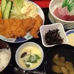 Photo taken at 割烹 田舎 by Ichi N. on 6/12/2014