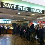 Photo taken at Navy Pier IMAX Theatre by Fatima Al Slail on 12/28/2012
