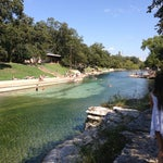 Photo taken at Barton Springs Pool by Erica D. on 10/5/2012