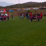 Photo taken at Canchas nuevas COBS by Federico C. on 11/10/2013