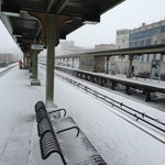 Photo taken at Yonkers Train Station - Metro North & Amtrak by Ceasar on 3/8/2013
