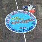 Photo taken at Adamson University by Alexandra D. on 9/14/2012
