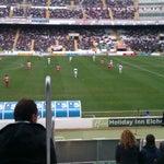 Photo taken at Estadio Manuel Martínez Valero by Jose V. on 12/16/2012