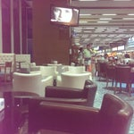 Nice small airport. In Liman cafe there is free WiFi and coffee.