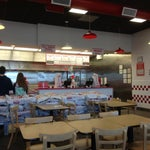 Photo taken at Five Guys by Michael G. on 4/22/2013