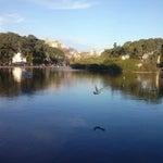 Photo taken at Parque Centenario by Diana C. on 7/13/2013