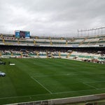 Photo taken at Estadio Manuel Martínez Valero by Isidro D. on 4/28/2013