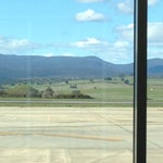 Get a window seat. Beautiful scenic airport to land in .