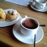 Photo taken at de Luna Resto & Café by Sukma A. on 10/17/2012