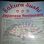 Photo taken at Sakura Sushi Japanese Restaurant by Janash Gewan R. on 1/10/2014