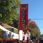 Photo taken at Oysterfest by Zen R. on 10/20/2013