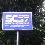 Photo taken at SC 37 Studio by Aditya M. on 9/28/2012