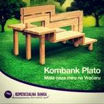 Photo taken at Komercijalna Banka by Dragan N. on 9/5/2013