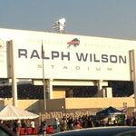 Photo taken at Ralph Wilson Stadium by Roman T. on 8/25/2012