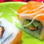 Photo taken at Running Sushi Sumo by Pavel D. on 3/23/2013