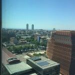 Photo taken at Novotel Barcelona City by Katherine B. on 5/28/2015