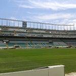Photo taken at Estadio Manuel Martínez Valero by Jose R. on 5/13/2013