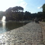 Photo taken at Parque Centenario by Jonathan A. on 3/15/2013