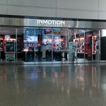 If you're flying internationally and forgot your charger, headphones, or plug, pick one up at InMotion. They have everything you need.  They open early at 8am and close late at 11:30pm.