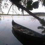 Photo taken at Lac de Virelles by Jan M. on 9/19/2014