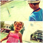 Photo taken at Town Square Fountain by Joshua S. on 6/15/2013