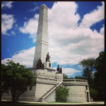 Photo taken at Lincoln Tomb State Historic Site by Jerome T. on 7/28/2013