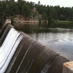 Photo taken at Evergreen Dam by Miles W. on 7/20/2013